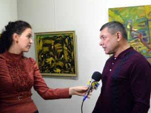 Фото: У Полтаві показали абстрактний живопис місцевих художників (фоторепортаж)