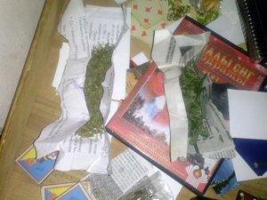 Фото: У Лохвиці чоловік тримав удома наркотики та холодну зброю