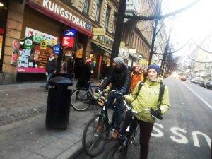 Фото: Полтавська велоактивістка у Швеції вивчала розвиток міст, культури та сучасного мистецтва