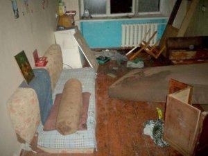 Фото: У Пирятинському районі чоловік задушив товариша  і підпалив його квартиру
