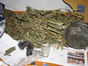 Фото: На Полтавщині чоловік зберігав більше чотирьох кілограмів марихуани