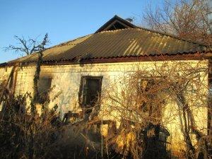 Фото: На Полтавщині під час пожежі загинула жінка