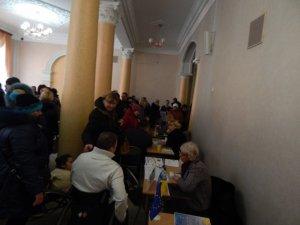 Фото: У Полтаві провели ярмарок вакансій для переселенців за підтримки ЄС