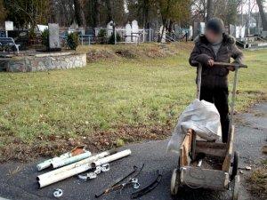 Фото: На Полтавщині жінка на крадіжках з цвинатря заробляла собі на життя (ФОТО)