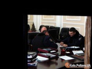 Фото: Поліція проведе перевірку по факту інциденту в Полтавській міськраді