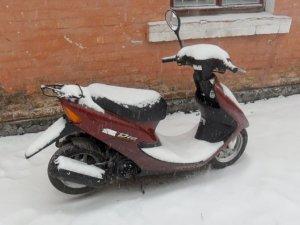 Фото: На Полтавщині чоловік викрав скутер та поїхав кататись із товаришем