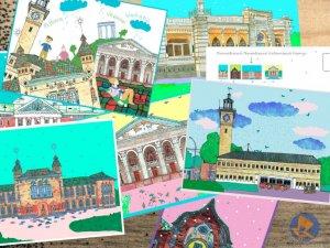 Фото: Творці проекту «НаСвято»: «У Полтаві дуже багато будівель, які варті того, щоб їх намалювали і показали»
