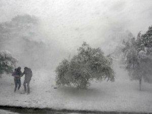 Фото: Через негоду на Полтавщині до сотні населених пунктів були без електрики