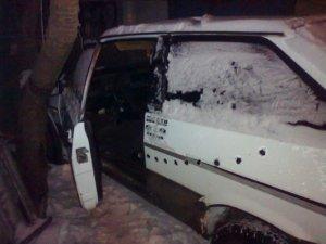 Фото: На Полтавщині чоловіки намагалися поцупити автівку