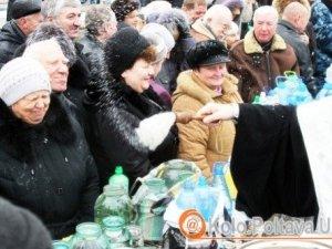 Фото: Владика Федір нагадав полтавцям, що воду освячують двічі