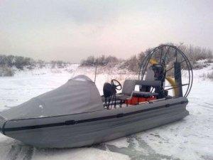 Фото: На Полтавщині через заметіль заблукало троє рибалок