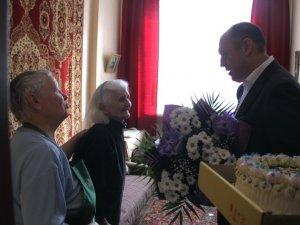 Фото: Ще одну полтавку привітали з 100-річчям