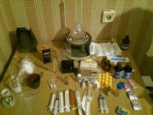 Фото: На Полтавщині «накрили» нарколабораторію