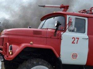 Фото: На Полтавщині горіла будівля соцзахисту населення, де перебувало 30 людей