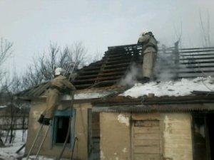 Фото: На Полтавщині під час гасіння пожежі рятувальники виявили два тіла