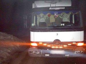 Фото: У Супрунівці вантажівка на смерть збила чоловіка