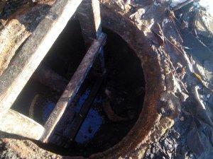 Фото: На Полтавщині врятували собаку, який упав до каналізаційного колодязя (фото)