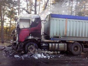 Фото: На Полтавщині за добу горіли два автомобілі