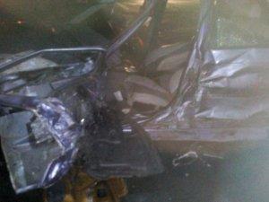Фото: На Полтавщині не розминулись два легковики та вантажівка: є постраждалий (фото)