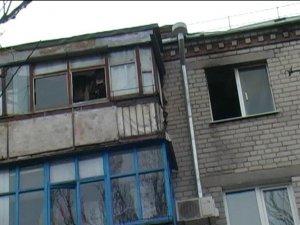 Фото: У Комсомольську двох дітей врятували з пожежі завдяки псу і небайдужій сусідці