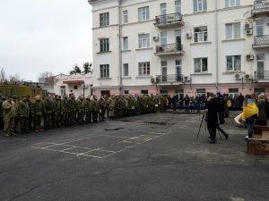 Фото: У Полтаві чергова ротація бійців (фото)