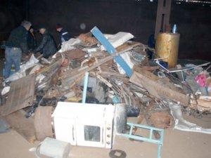 Фото: На Полтавщині «накрили» незаконний пункт прийому металобрухту
