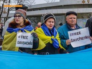 Фото: Полтавці пітримали Надію Савченко (фотофакт, оновлено)