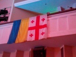 Фото: Як Михайло Саакашвілі у Полтаву на антикорупційний форум приїжджав