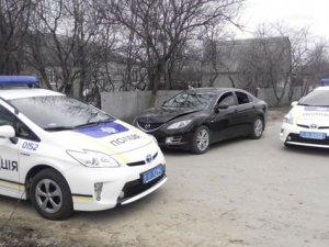 Фото: Викрадений серед вулиці у Полтаві автомобіль знайшли за годину