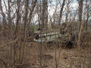 Фото: На Полтавщині  авто з'їхало в кювет  – загинуло двоє людей