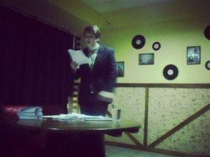 Фото: У Полтаві відбулася презентація книги молодого письменника Германа Майєра