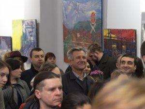 Фото: «Масштабний художник» вразив Полтаву своїм живописом