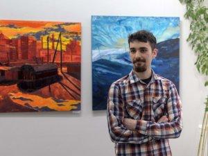 «Масштабний художник» вразив Полтаву своїм живописом