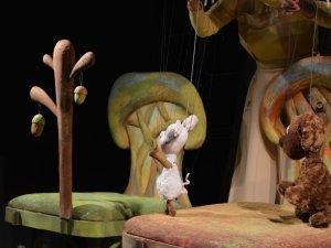 Фото: Полтавській малечі показали прем'єру вистави про Вінні-Пуха (ФОТО)