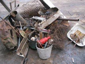 Фото: Із нелегального прийомника на Полтавщині вилучили 15 тонн чорного та кольорового металу