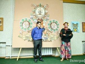 Фото: Автор найбільшої витинанки в Україні з Кременчука отримуватиме стипендію Президента