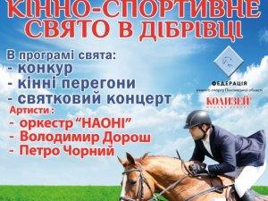 Фото: У Дібрівці на Полтавщині проведуть кінноспортивне свято: програма