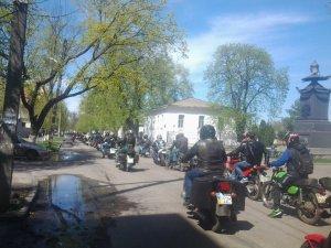 Полтавою проїхало близько 700 мотоциклів (відео)