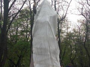 Фото: У Полтаві встановили пам'ятник Мазепі