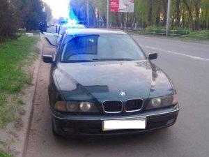 Фото: У Полтаві двічі зупиняли п'яного водія BMW