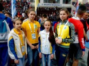 Фото: Полтавські тхеквондисти здобули три медалі в Туреччині