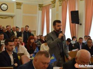"""Фото: Активісти після четвертої сесії міської ради """"наїхали"""" на мера Полтави (відео)"""