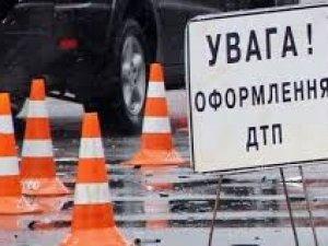 Фото: Ланцюгова реакція: на Полтавщині зіткнулися три автівки