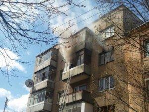 Фото: У Кременчуці горіла квартира – постраждати могли дві дитини