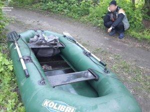 Фото: У Кременчуці затримали чоловіка, який сітками виловив 25 кілограмів риби