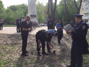 Фото: У Полтаві намагались підірвати пам'ятник Мазепі: «Коло» перевіряє інформацію