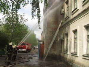 Фото: Пожежа у полтавській лікарні:  рятувальники повідомили про наслідки (фото)