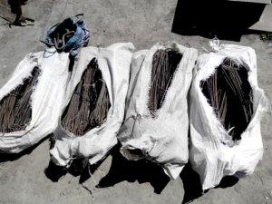 Фото: У Лохвицькому районі чоловік вкрав 500 метрів металевого дроту