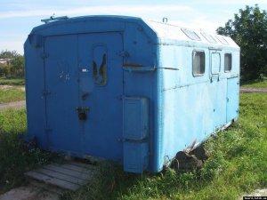 Фото: На Полтавщині злодій обікрав будівельний вагончик