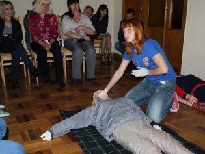 Полтавських чиновників учили надавати домедичну допомогу